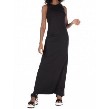 Superdry JERSEY MAXI DRESS, ženska haljina, crna