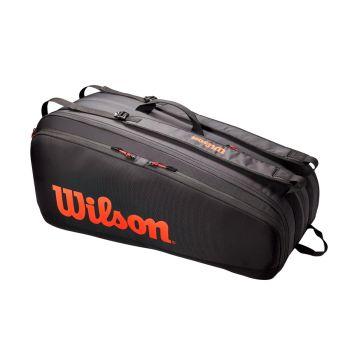 Wilson TOUR 12 PK, torba, crvena