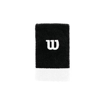 Wilson EXTRA WIDE W WRISTBAND, znojnica za zglob, crna