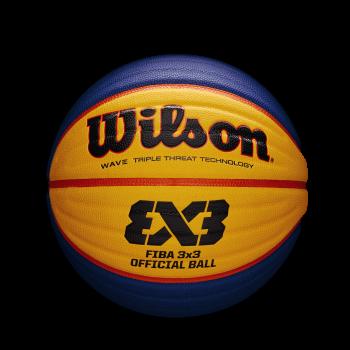 Wilson FIBA 3X3 GAME BASKETBALL, lopta za košarku, plava