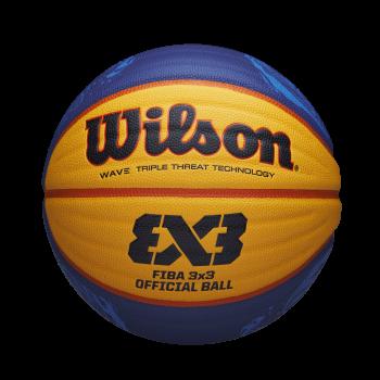 Wilson FIBA 3X3 OFFICIAL GAME BALL 2020 WT, lopta za košarku, plava