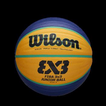 Wilson FIBA 3X3 REPLICA JUNIOR, lopta za košarku, plava