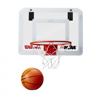 Wilson NCAA SHOWCASE MINI HOOP, obruč za košarku, bijela