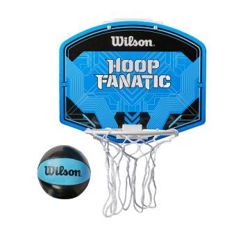 Wilson HOOP FANATIC MINI BSKT HOOP, obruč za košarku, plava