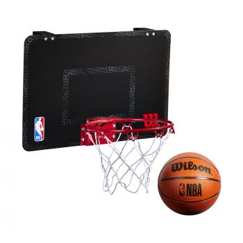 Wilson NBA FORGE TEAM MINI HOOP, tabla sa obručem, crna