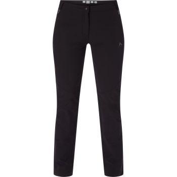McKinley YUBA WMS LNG, ženske pantalone za planinarenje, crna