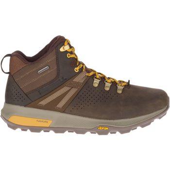 Merrell ZION PEAK MID WP, muške planinarske cipele, braon