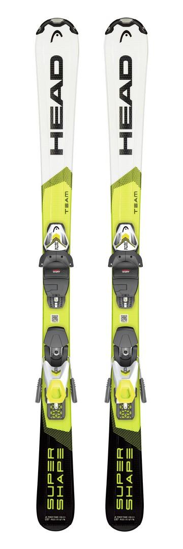 Head SUPERSHAPETEAM SLR PRO + SLR 7.5 GW, set skija dječiji, bijela