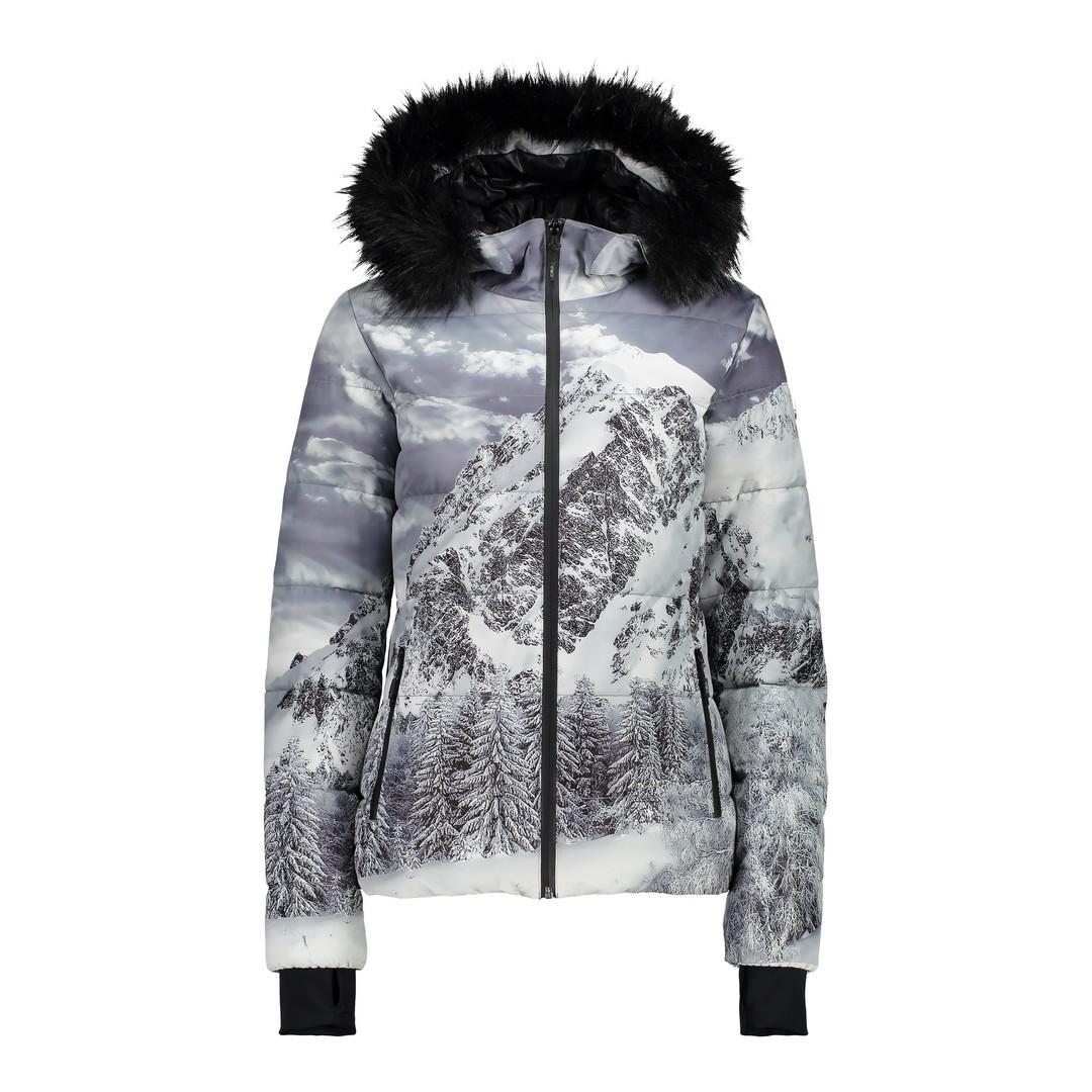 CMP WOMAN JACKET FIX HOOD, ženska jakna za skijanje, uzorak