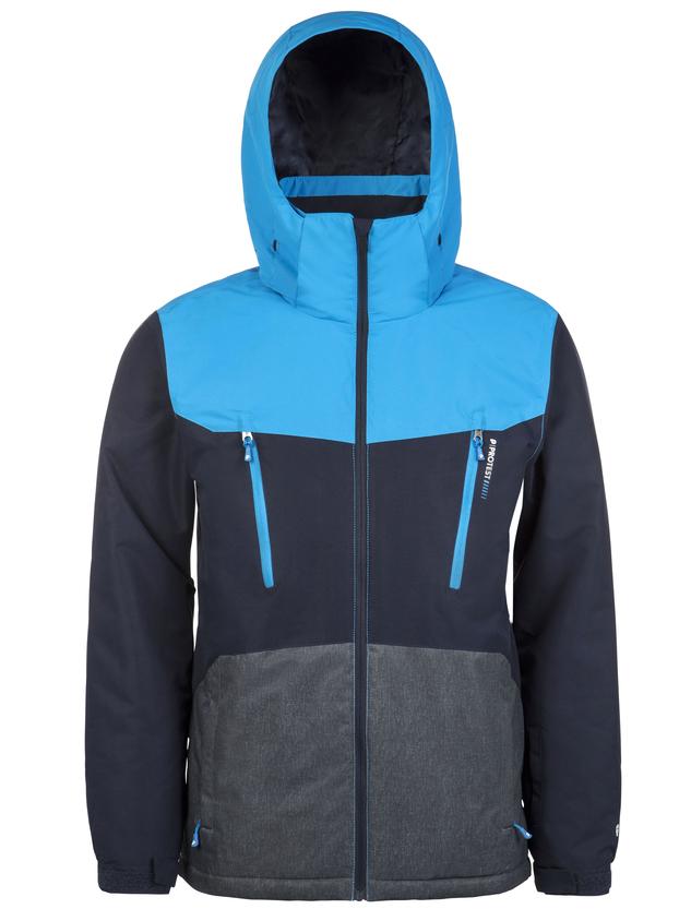 Protest TAILGRAB 18, muška jakna za skijanje, plava