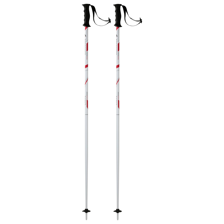 Tecnopro CARVE, štapovi za skijanje, bijela
