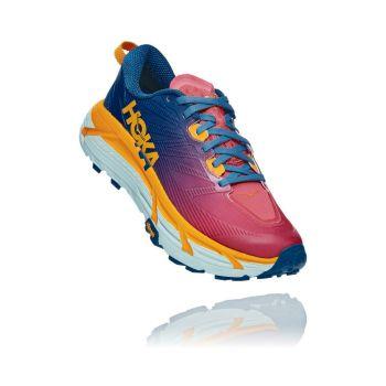 Hoka One One MAFATE SPEED 3 W, ženske patike za trail trčanje, crvena