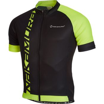 Nakamura VELO JERSEY, muška majica za biciklizam, crna