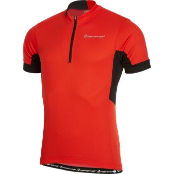 Nakamura BASIC JERSEY, muška majica za biciklizam, crvena