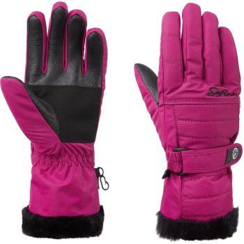 McKinley BLAIR II WMS, ženske rukavice za skijanje, roza