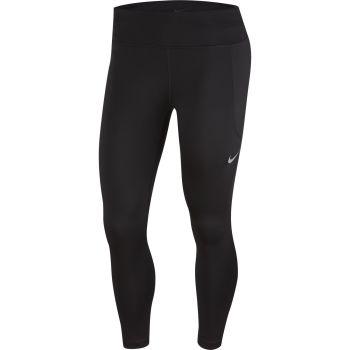 Nike W NK FAST CROP MR, ženske 7/8 pantalone za trčanje, crna