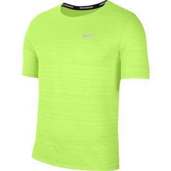 Nike DRI-FIT MILER RUNNING TOP, muška majica za trčanje, zelena