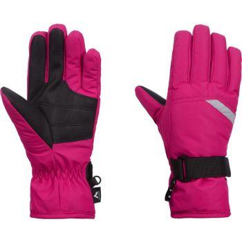 McKinley DALENCE JRS, dječije rukavice za skijanje, roza