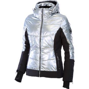 McKinley GARYL WMS, ženska jakna za skijanje, srebrna