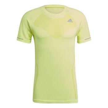 adidas PRIMEKNIT TEE M, muška majica za trčanje, žuta
