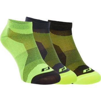 Pro Touch LAKIS UX 3-PCK, čarape za trčanje, žuta