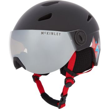 McKinley PULSE JR S2 VISOR HS-016, dječija skijaška kaciga, crna