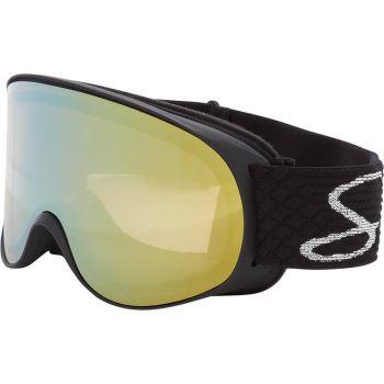 McKinley SAFINE S MIRROR, ženske skijaške naočare, crna