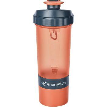 Energetics SHAKER BOTTLE 0.60L, boca pvc, crvena