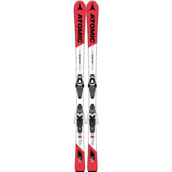 Atomic REDSTER XR FR EZY2 + E LITHIUM 10 AW, set skija race, crvena