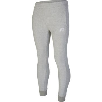 Russell Athletic EMBROIDED CUFFED PANT, muški donji dio trenerke, siva