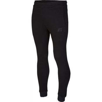 Russell Athletic EMBROIDED CUFFED PANT, muški donji dio trenerke, crna