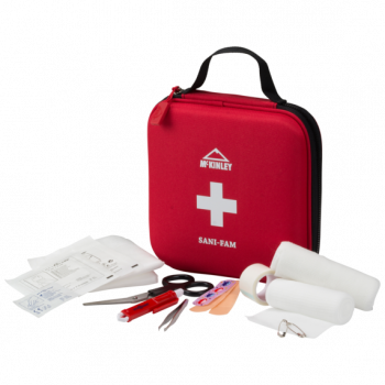 McKinley PRVA POMOČ FIRST AID KIT FAMILY RED, prva pomoć, crvena