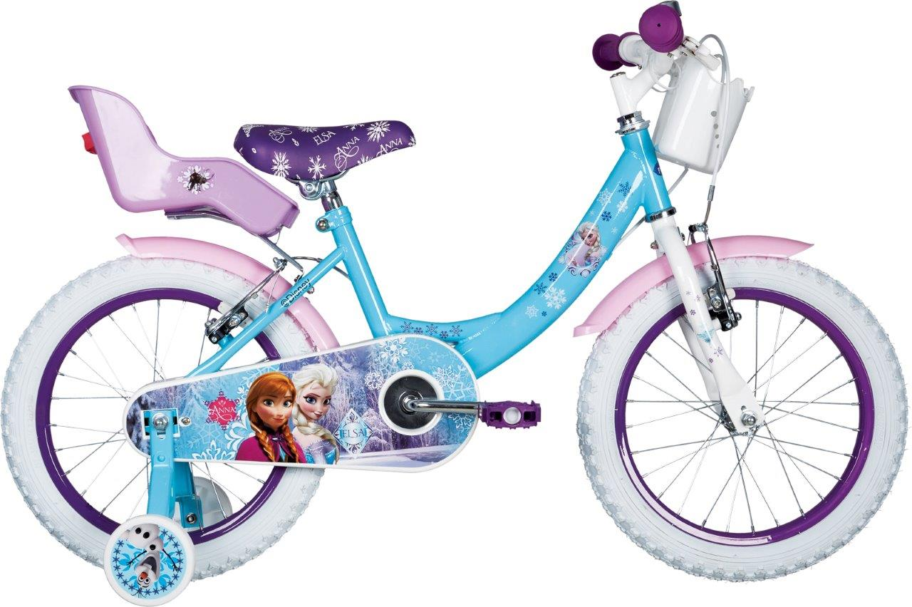 Frozen FROZEN 16, dječiji gradski bicikl, plava