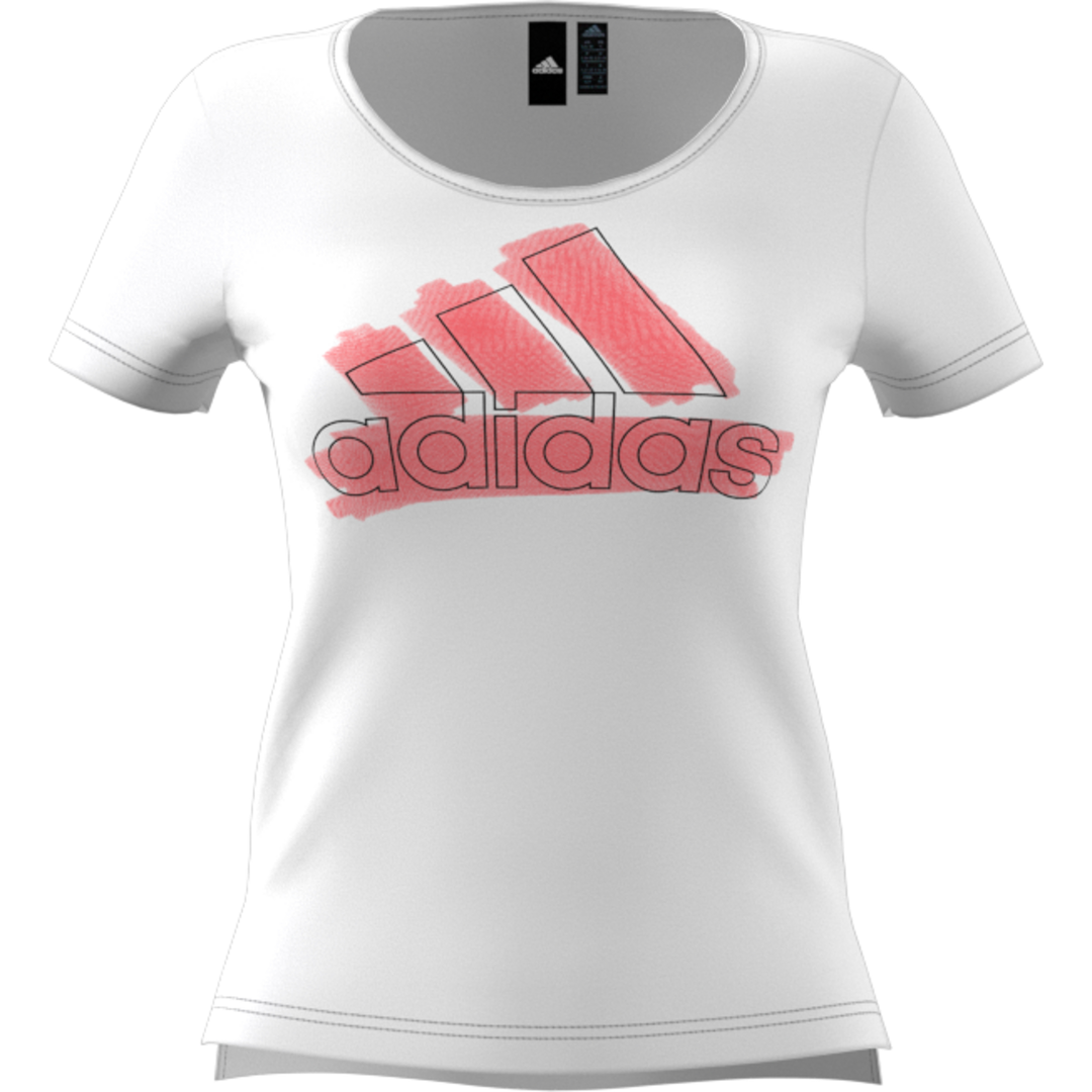 adidas BOS SPECIAL TEE, ženska majica za fitnes, bijela