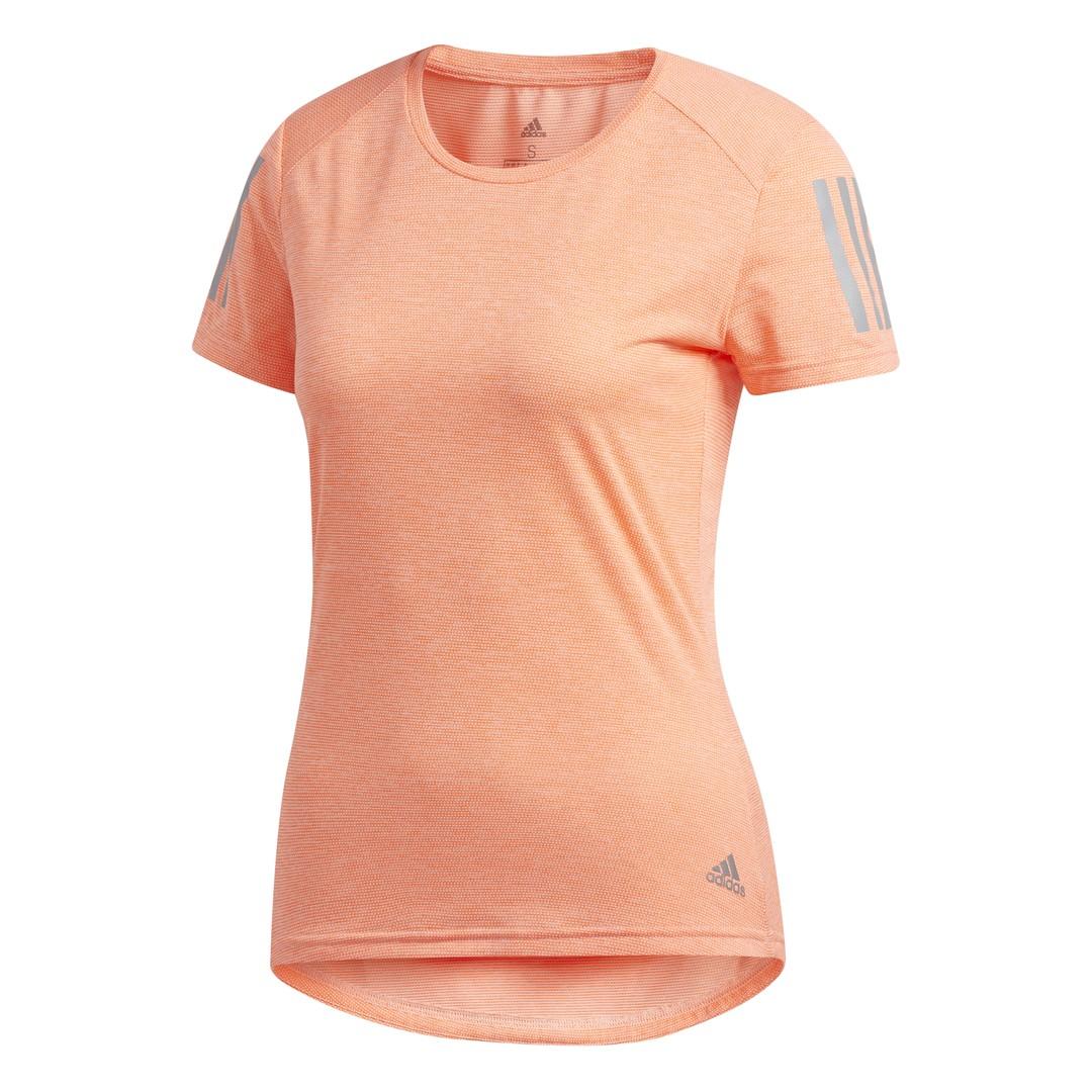adidas OWN THE RUN TEE, ženska majica za trčanje, narandžasta