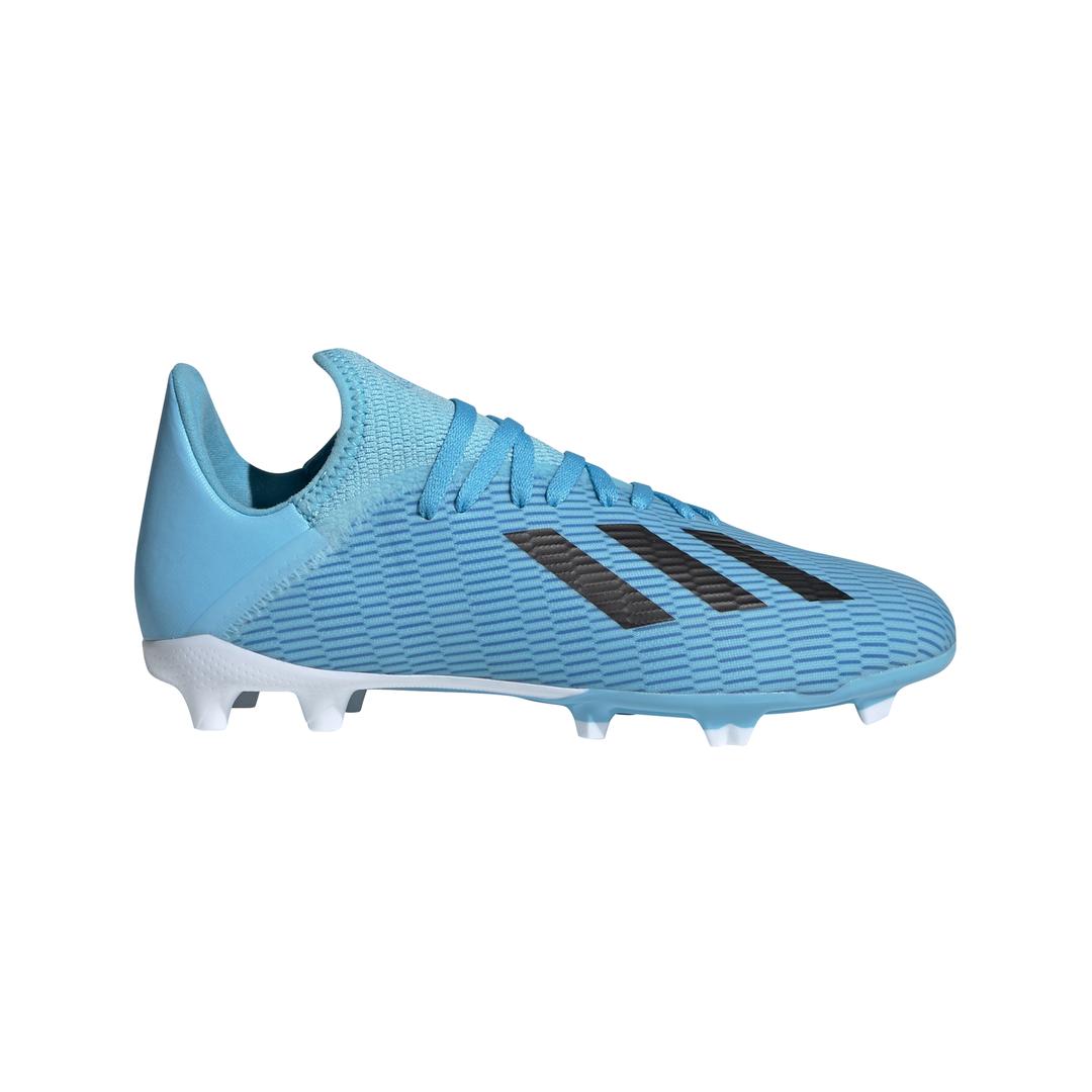 adidas X 19.3 FG J, dječije kopačke za fudbal (fg), plava