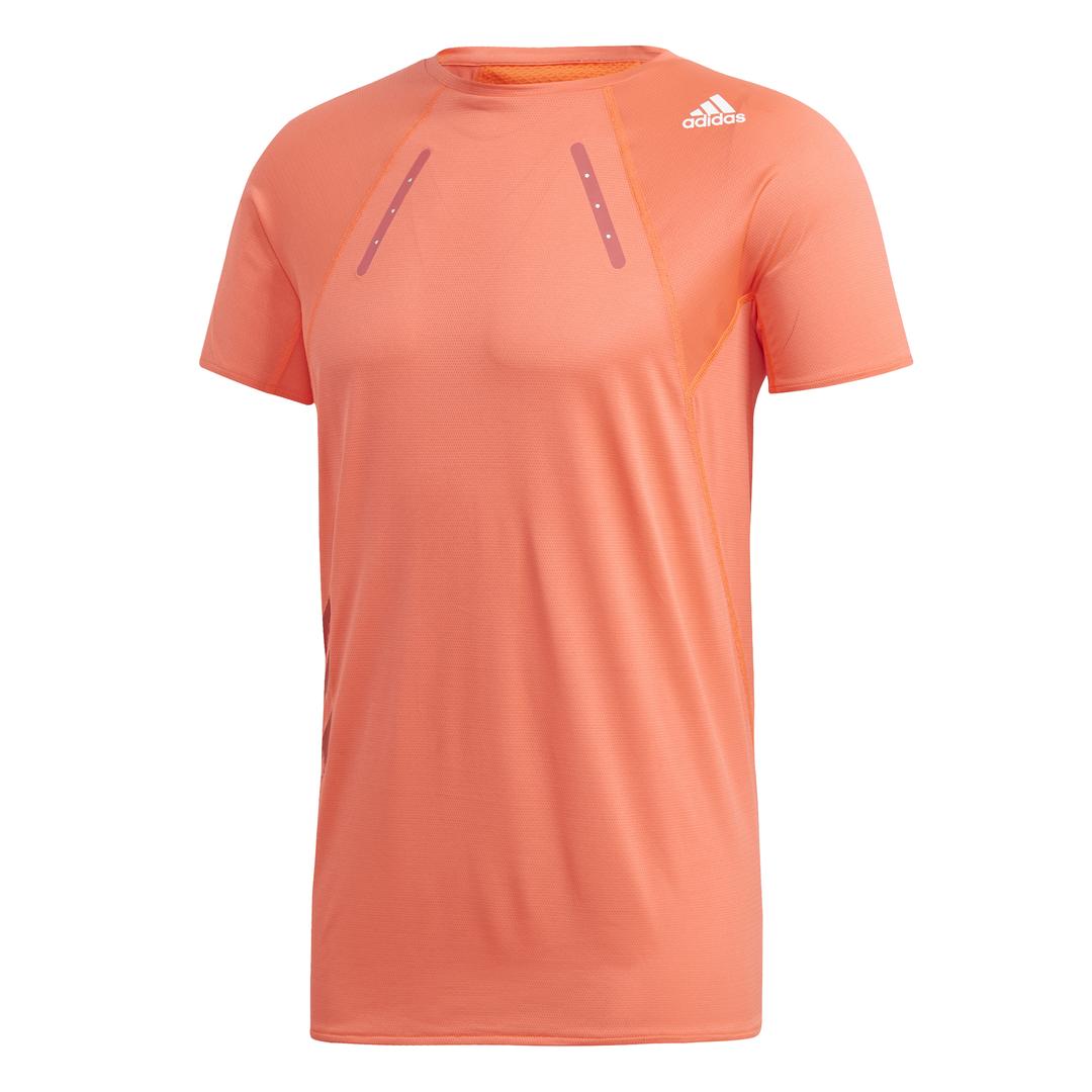 adidas HEAT.RDY TEE M, muška majica za trčanje, narandžasta