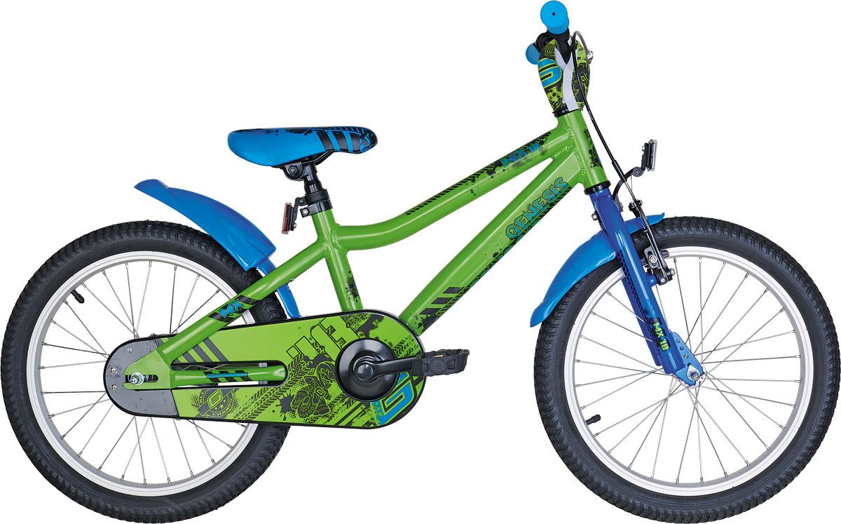 Genesis MX 18, dječiji mtb bicikl, zelena
