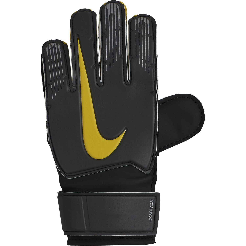 Nike GK MATCH JR-FA18, dječije golmanske rukavice za fudbal, siva