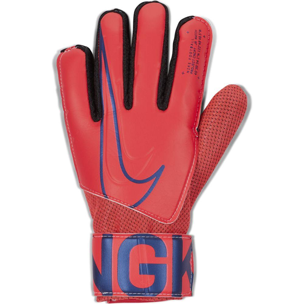 Nike GK MATCH JR, dječije golmanske rukavice za fudbal, crvena