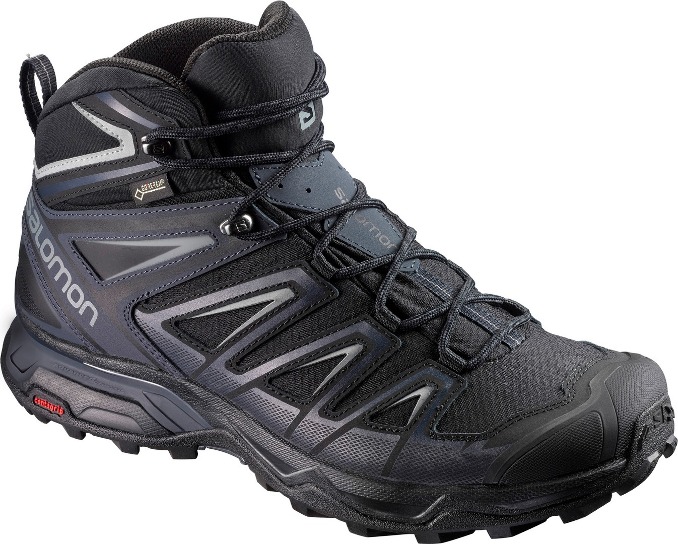 Salomon X ULTRA 3 MID GTX®, muške planinarske cipele, crna