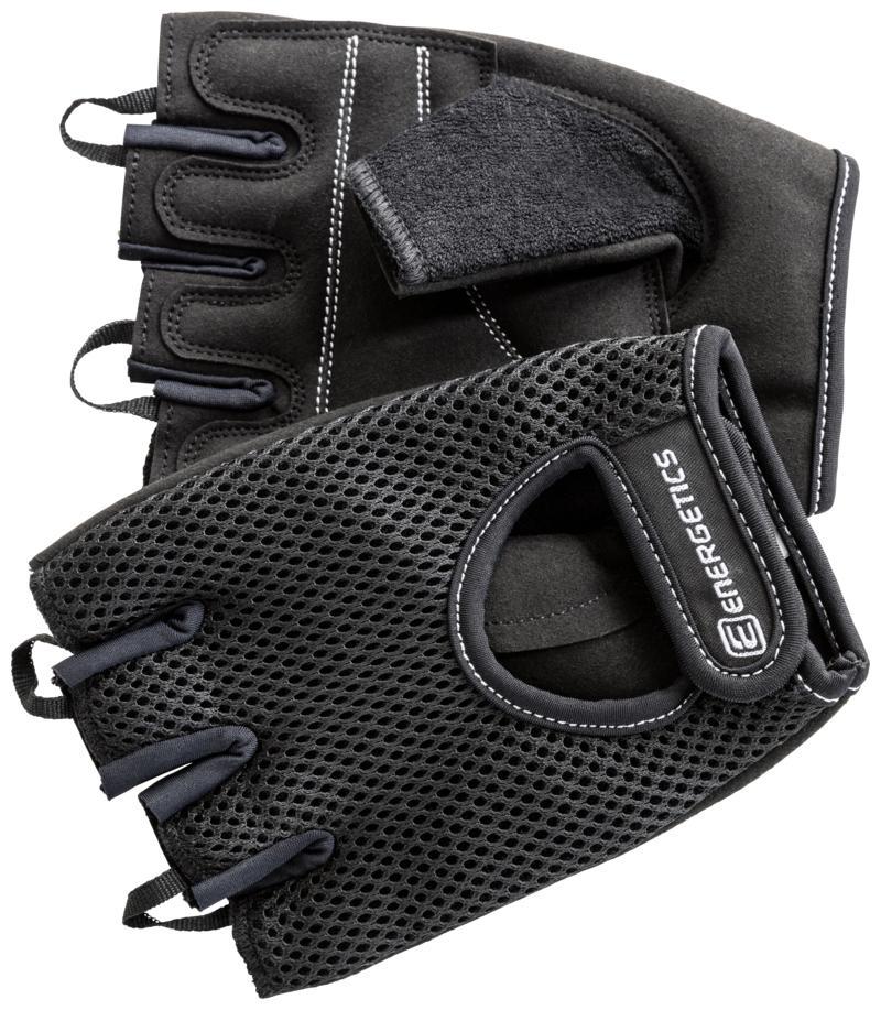 Energetics MFG110, rukavice za fitnes, crna