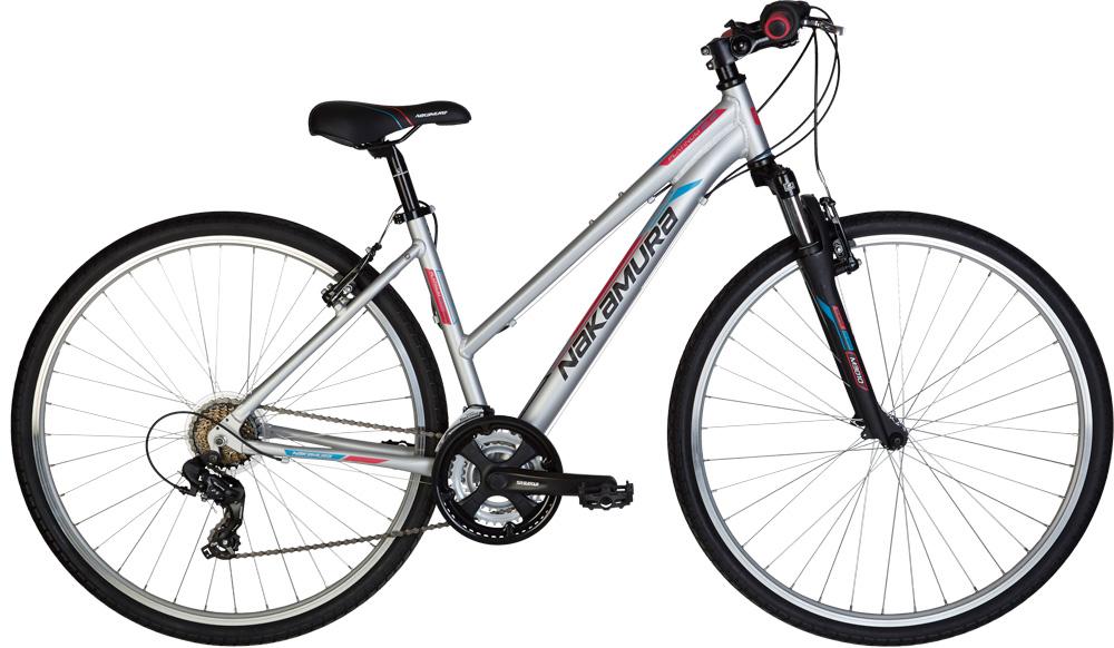 Nakamura PLATINUM 2.9 W, ženski treking bicikl, siva