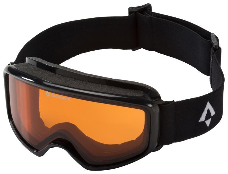 Tecnopro PULSE S, dječije skijaške naočare, crna