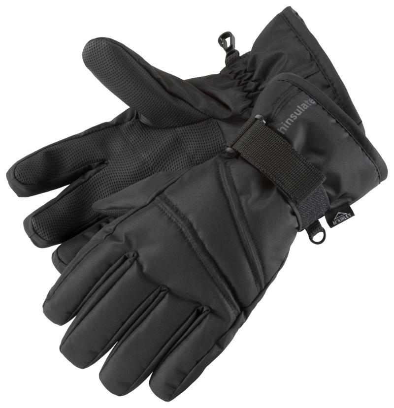 McKinley RONN II JRS, dječije rukavice za skijanje, crna