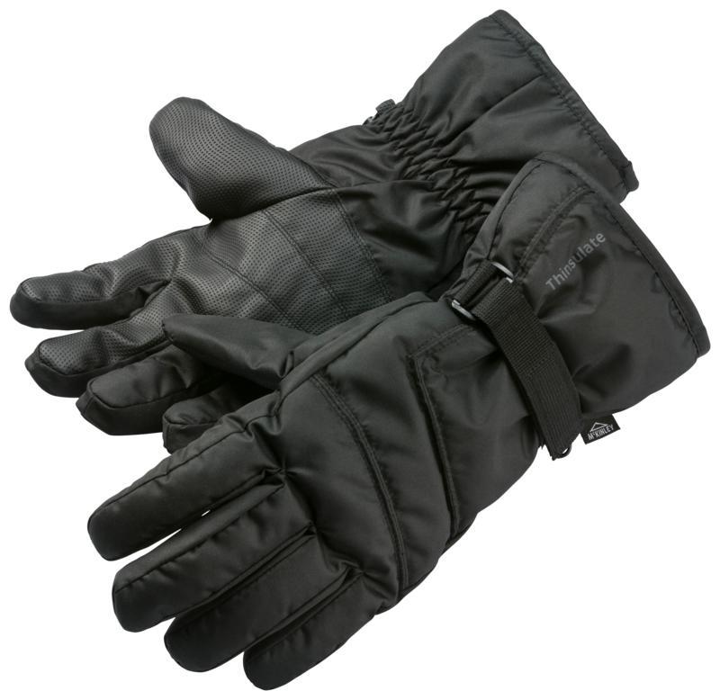 McKinley RONN II UX, rukavice za skijanje, crna