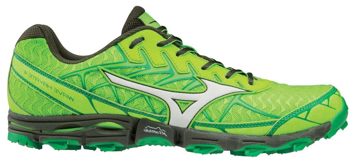 Mizuno WAVE HAYATE 4, muške patike za trčanje, zelena
