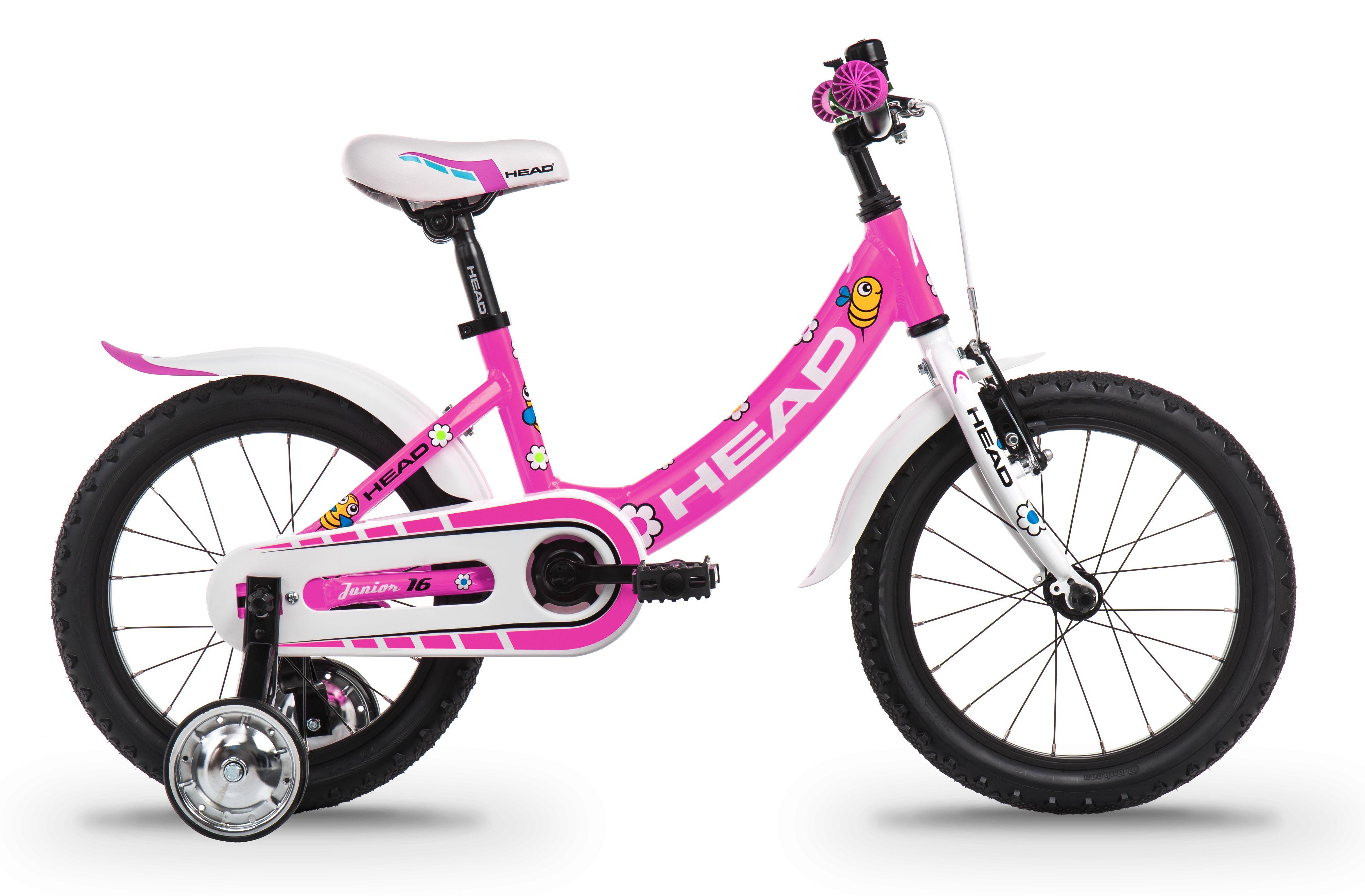 Head JUNIOR 16, dječiji mtb bicikl, roza