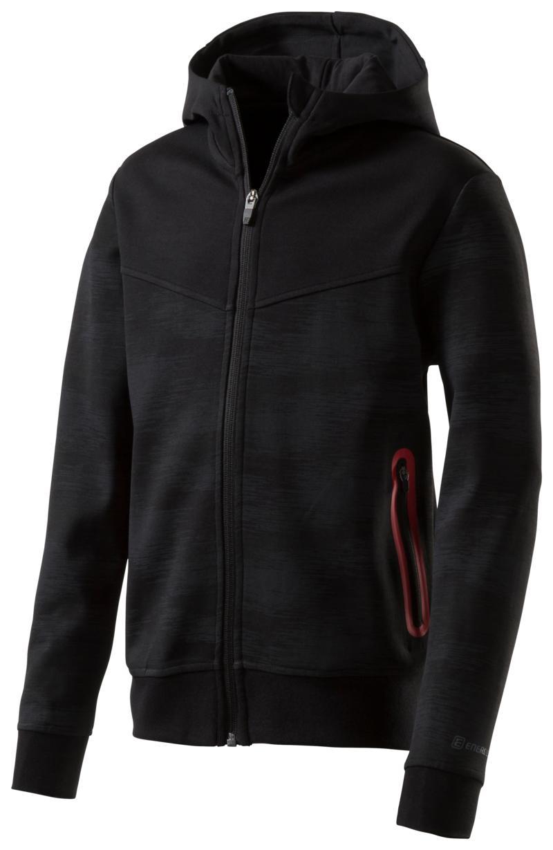 Energetics TODDY I JRS, dječija jakna za fitnes, crna