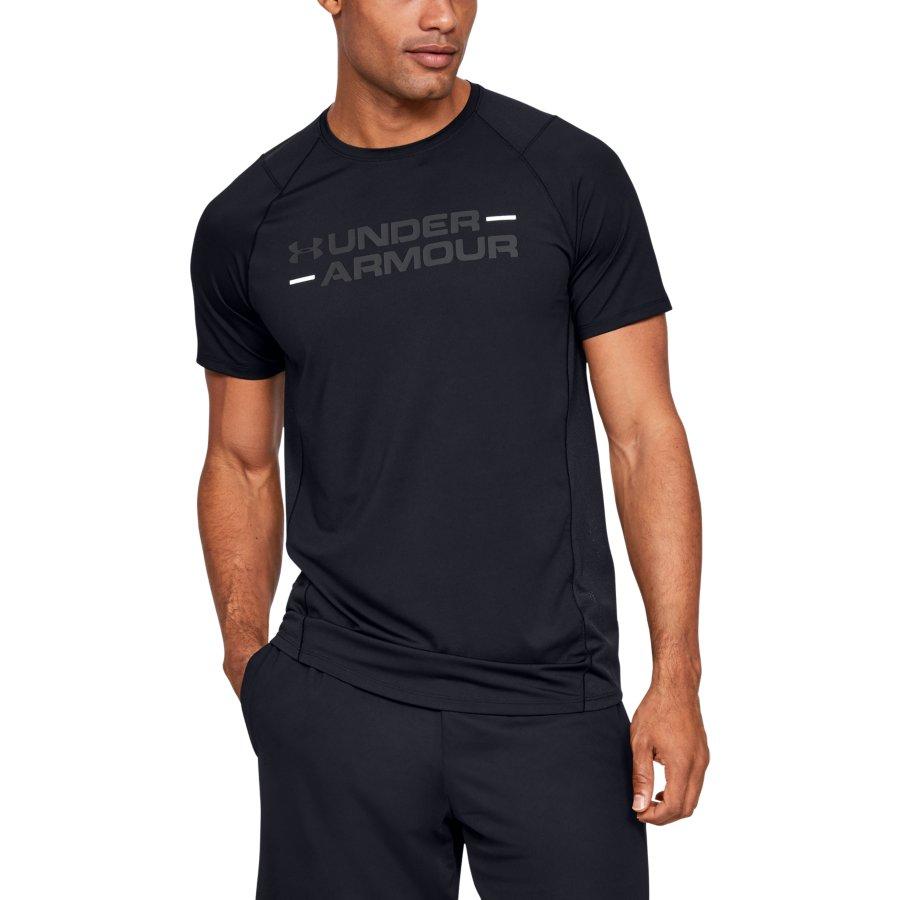 Under Armour UA MK1 SS WORDMARK, muška majica za fitnes, crna